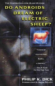 Do Androids Dream of Electric Sheep? Image: Del Rey