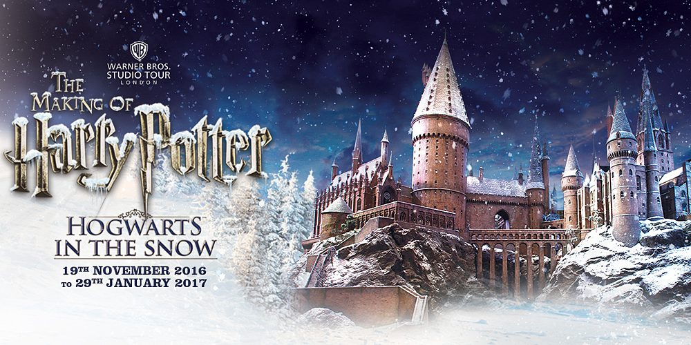 Hogwarts in The Snow, Image: Warner Brothers