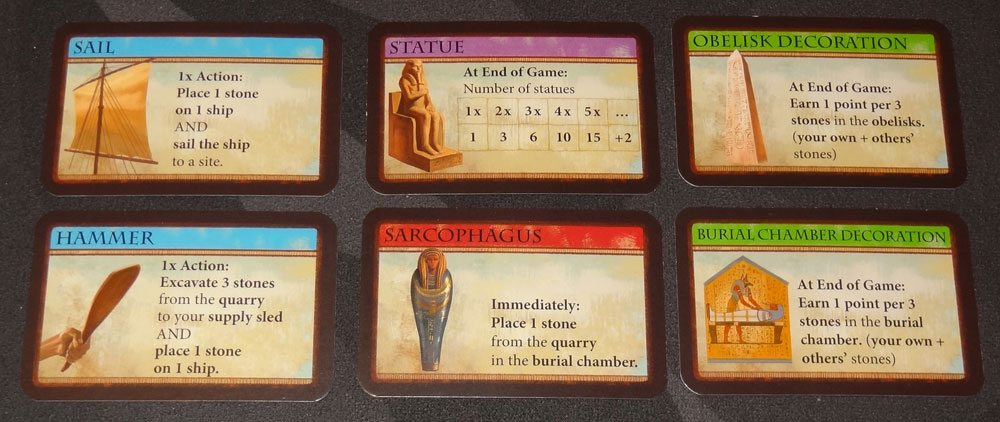 Imhotep market cards
