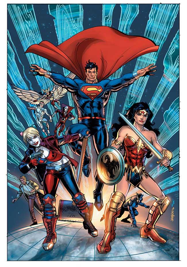 New Talent Showcase #1, copyright DC Comics