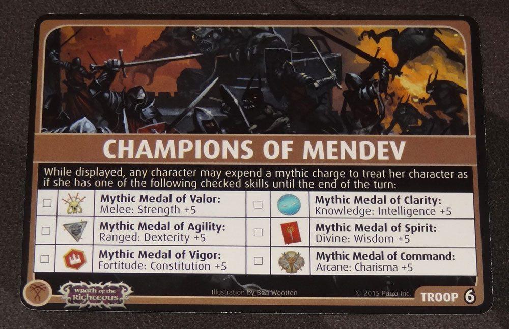 PACG Champions of Mendev