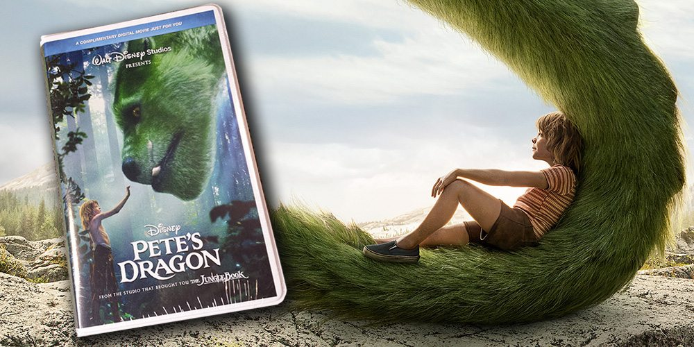 Pete's Dragon 2016 VHS Promo