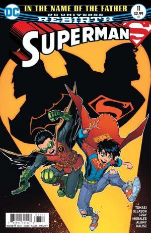 Superman #11, cover copyright DC Comics