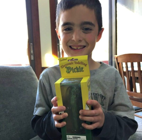 This Yodeling Pickle is Everything | Caitlin Fitzpatrick Curley, GeekMom yodelling pickle