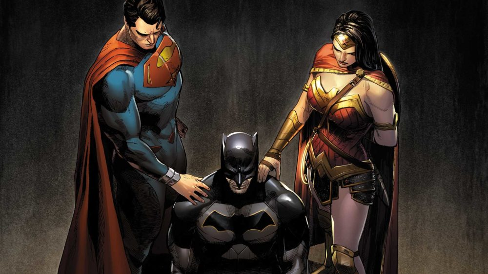 Trinity #3 cover by Clay Mann, copyright DC Comics
