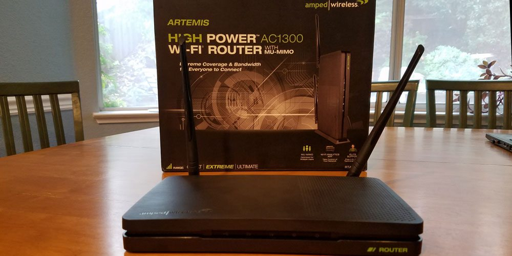 The Amped Wireless AC1300 Router. Image by Rob Huddleston.