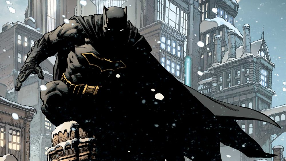 Batman Annual #1 cover by David Finch, copyright DC Comics
