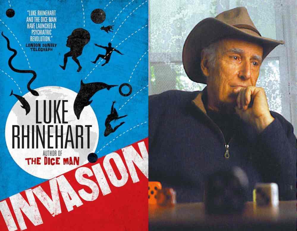 Invasion cover with Luke Rhinehart
