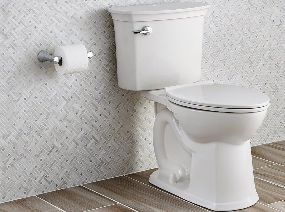 Despite the extra tech, the toilet cuts a classic profile. (Image Credit: American Standard)