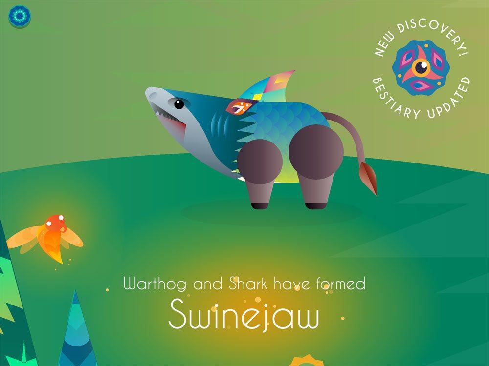 Beasts of Balance swinejaw