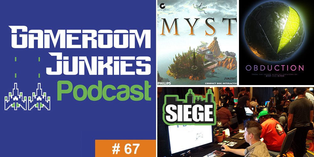 Gameroom Junkies #67: Interview with Rand Miller at SIEGE con