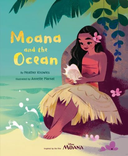 Moana and the Ocean