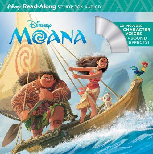 Moana Read-Along Storybook