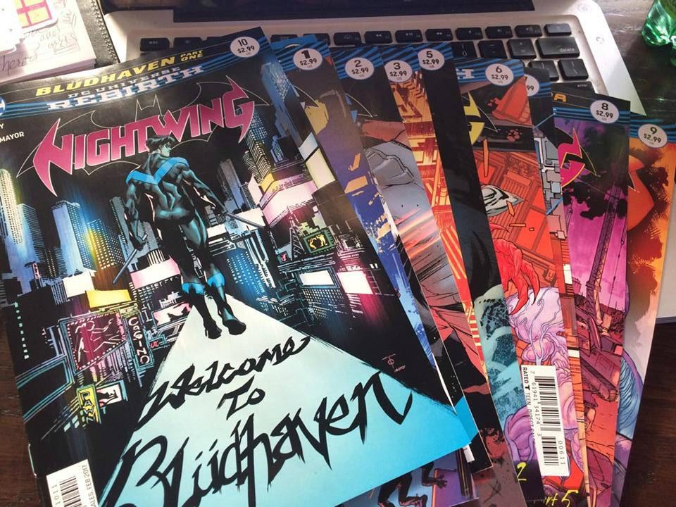 Nightwing Rebirth Bludhaven