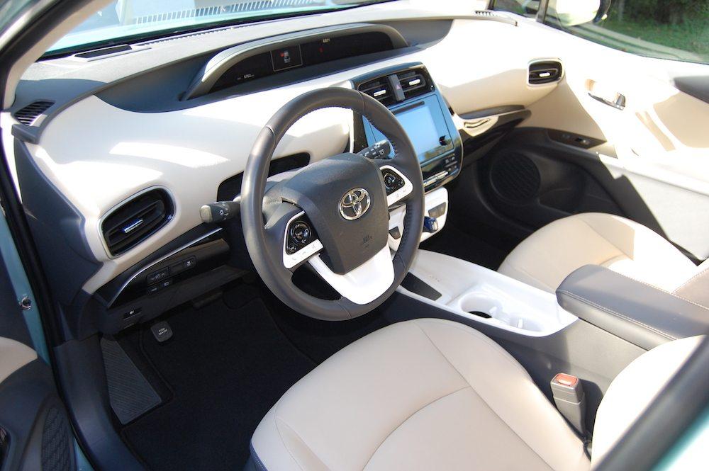 Prius Four interior