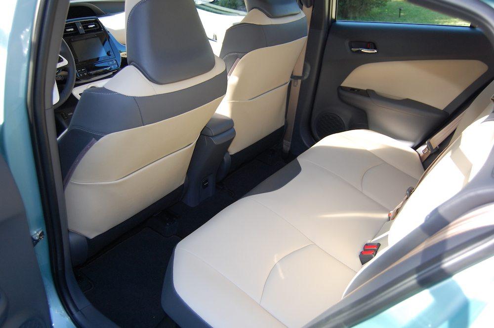Prius Interior Back