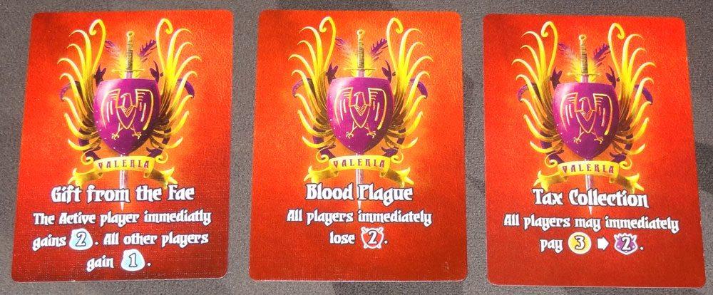 Valeria: Card Kingdoms events