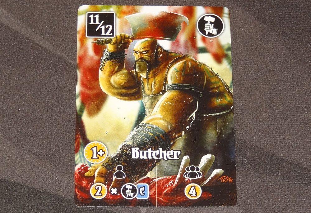 Valeria: Card Kingdoms butcher
