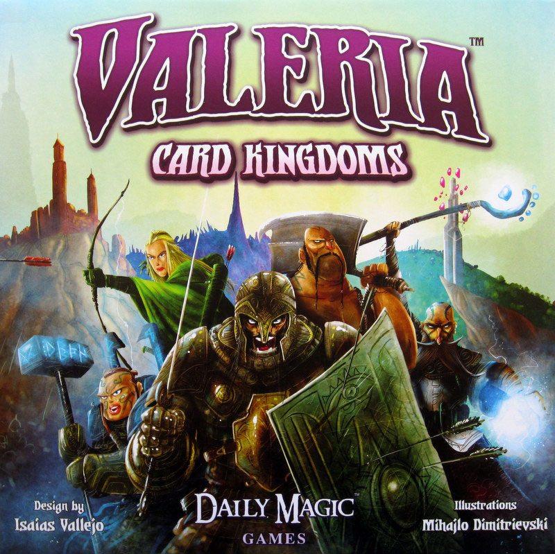 Valeria: Card Kingdoms cover