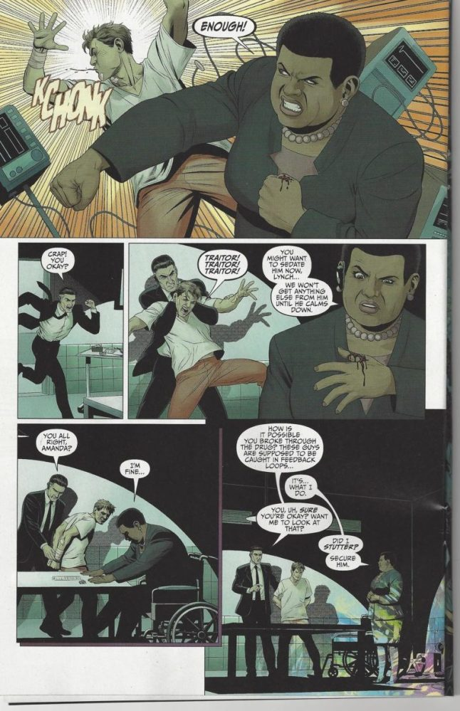 Amanda Waller in Suicide Squad Most Wanted, image via DC Comics