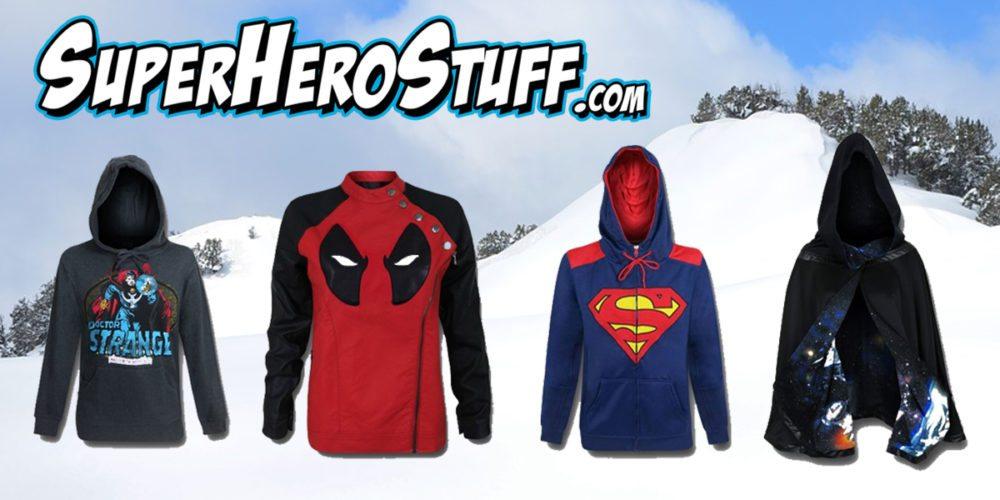 SuperHero Winter Gear \ Images SuperHeroStuff.com