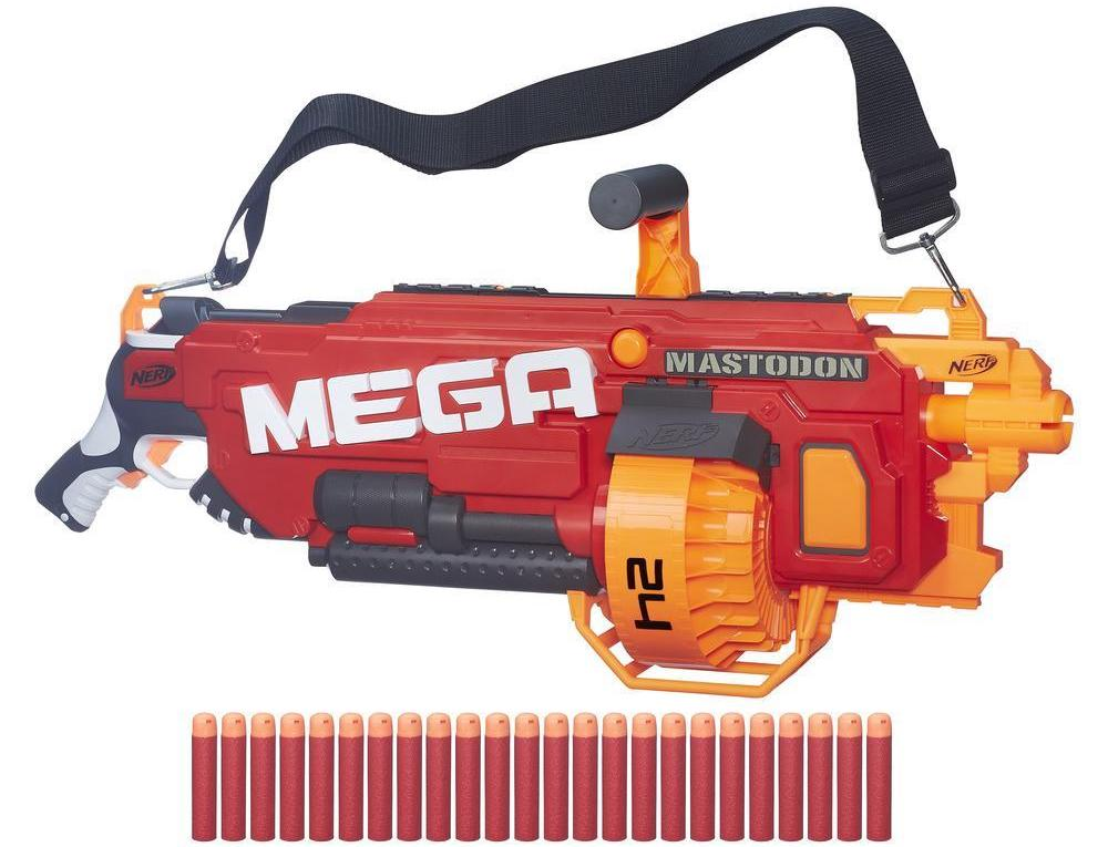 I wish I could make the size of this thing obvious. Source: Nerf.