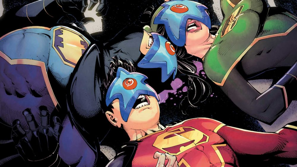From New Super-Man #5--our new hero realizes in #6 that Starro is the least of his problems