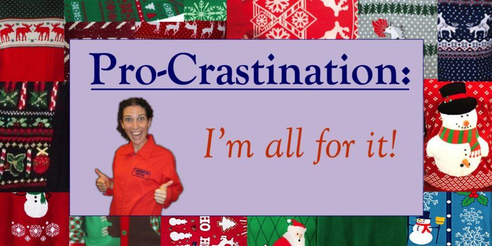 procrastinate-sweater