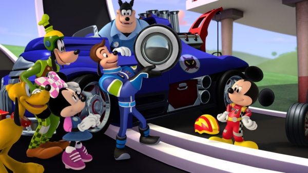 Mickey and the Roadster Racers fun for Boys and Girls