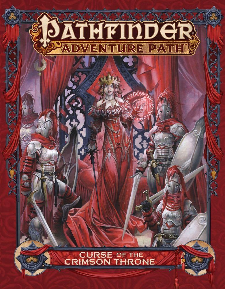 Curse of the Crimson Throne cover art