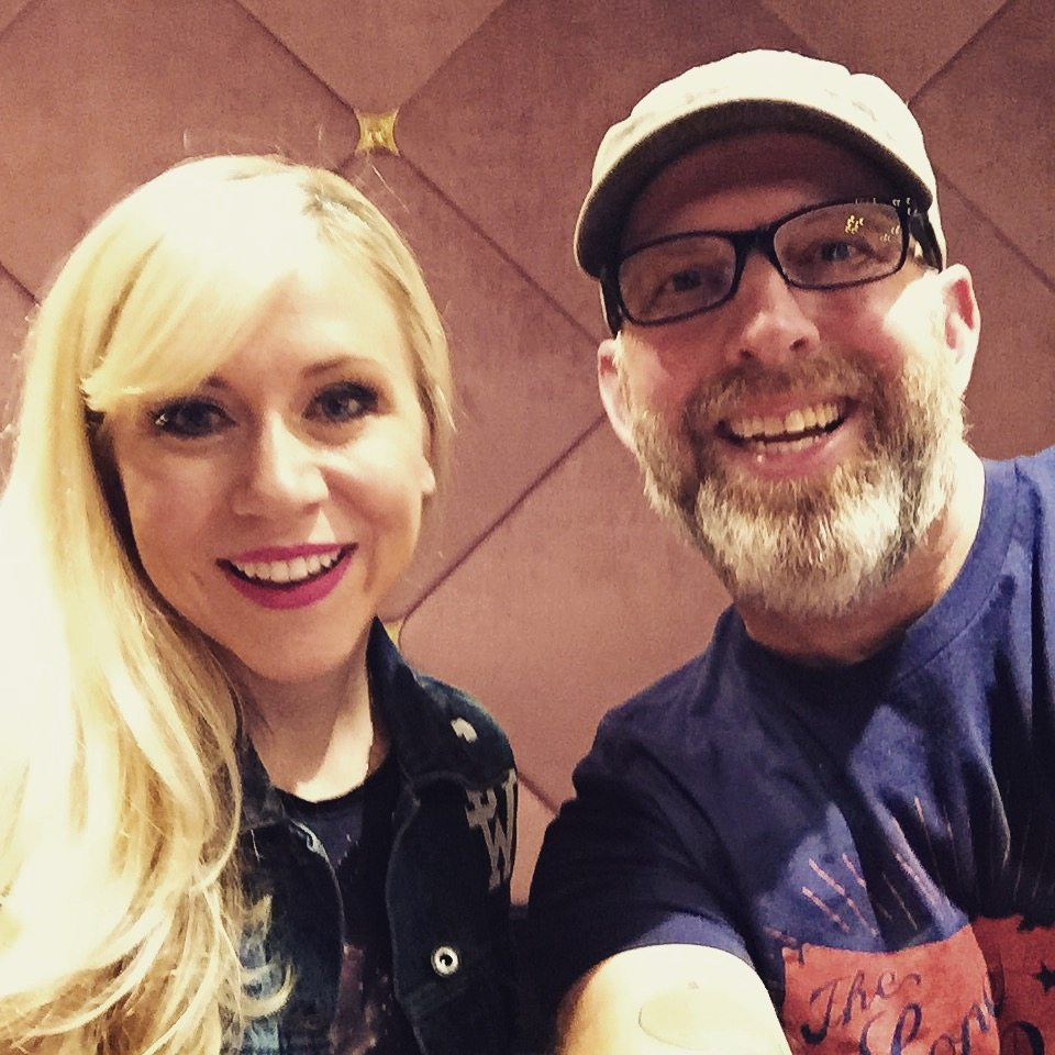 Her Universe founder Ashley Eckstein and writer Whit Honea