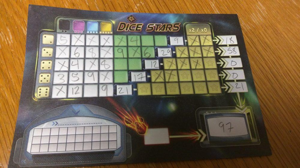dice stars tally