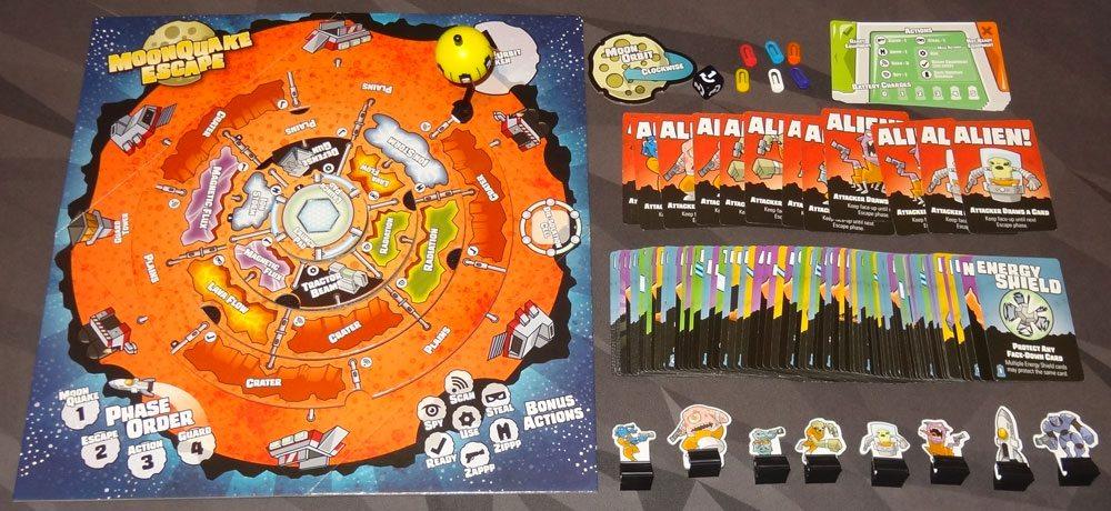 MoonQuake Escape components