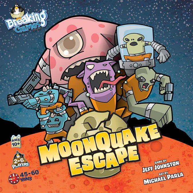 MoonQuake Escape cover