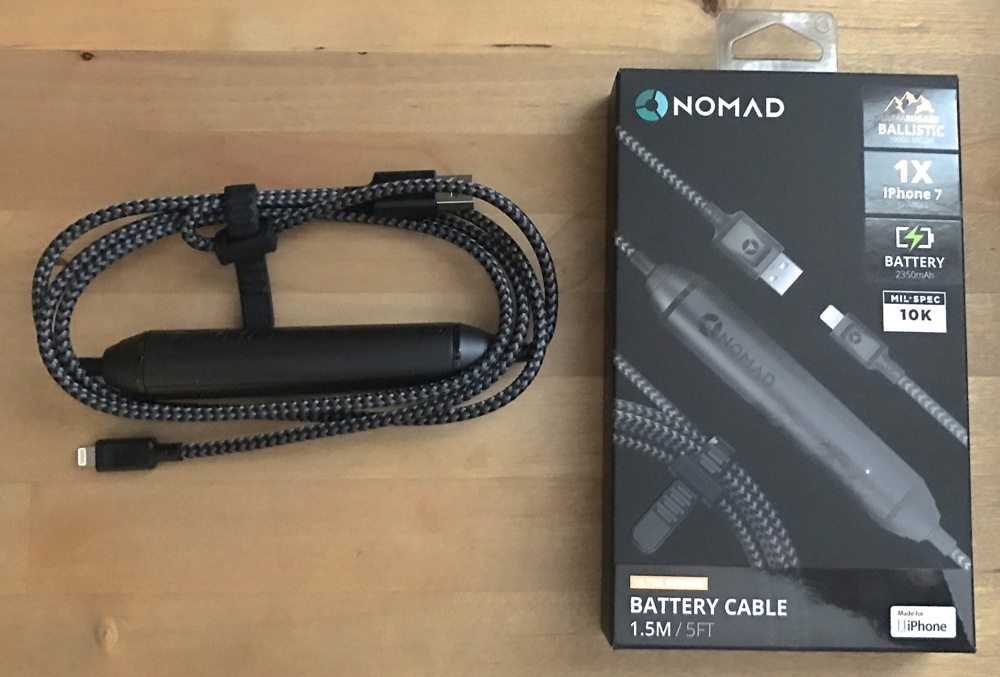 Nomad Ultra Rugged Battery Cable for iPhone review
