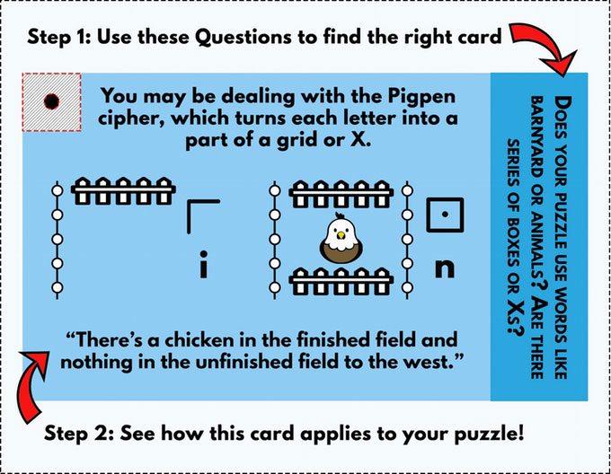 Puzzle Keyring sample