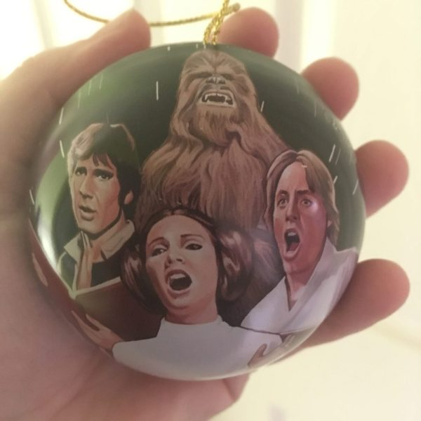 Star Wars Holiday Special Bauble, Image: Sophie Brown