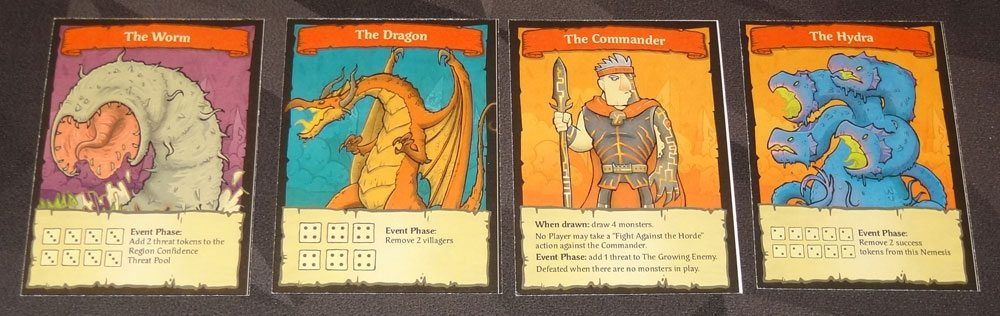 By Order of the Queen Nemesis cards