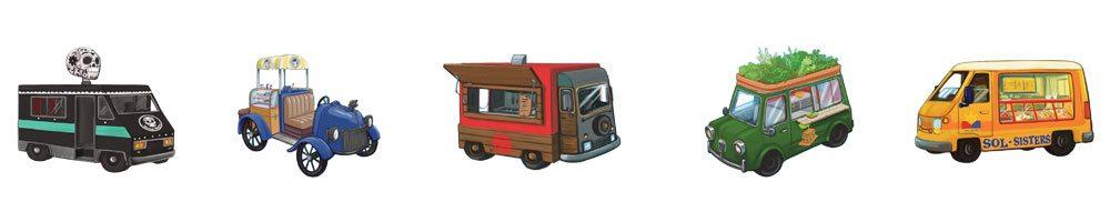 Food Truck Champion trucks