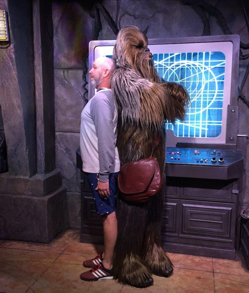 Star Wars tour at WDW