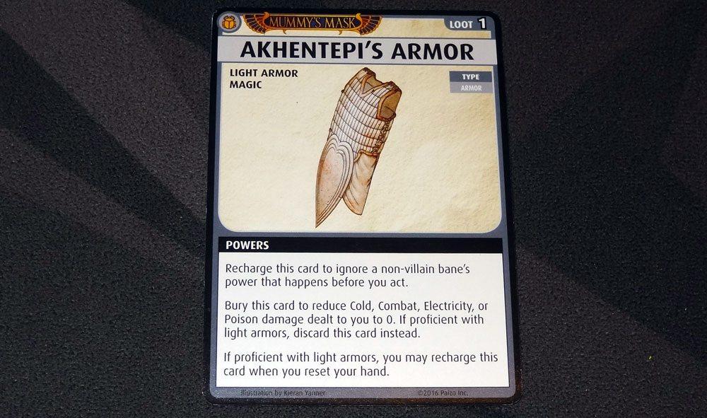 PACG Mummy's Mask Akhentepi's Armor
