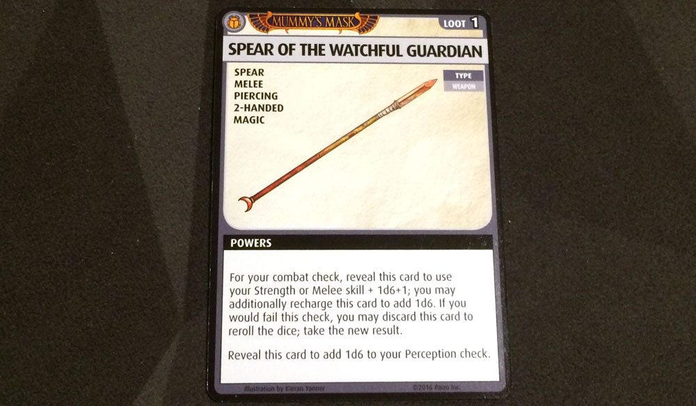 PACG Spear of the Watchful Guardian