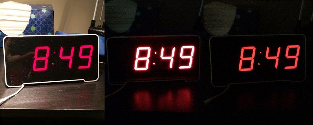 Sandman Clock autodim