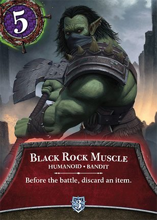 Thunderstone Quest Black Rock Muscle