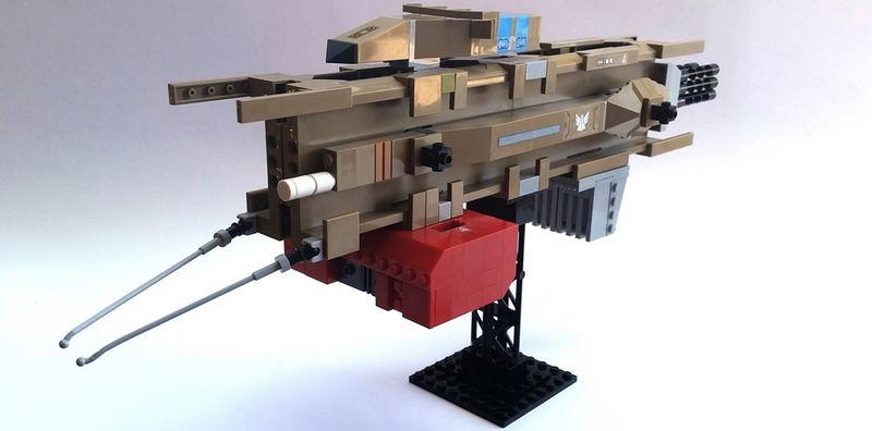 UNN Coelacanth in Lego