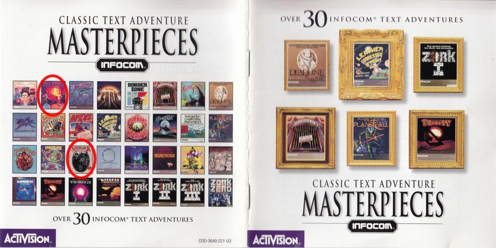 Masterpieces of Infocom