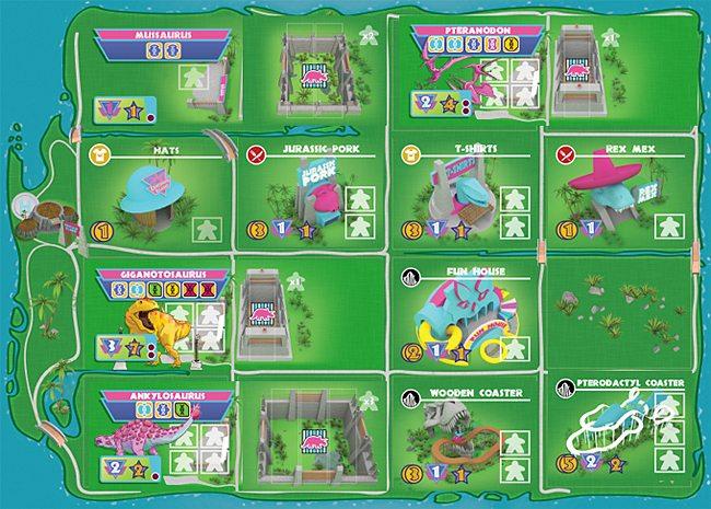 A Typical Park Design, Image: Pandasaurus Games
