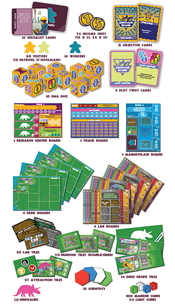 Game Components, Image Pandasaurus Games