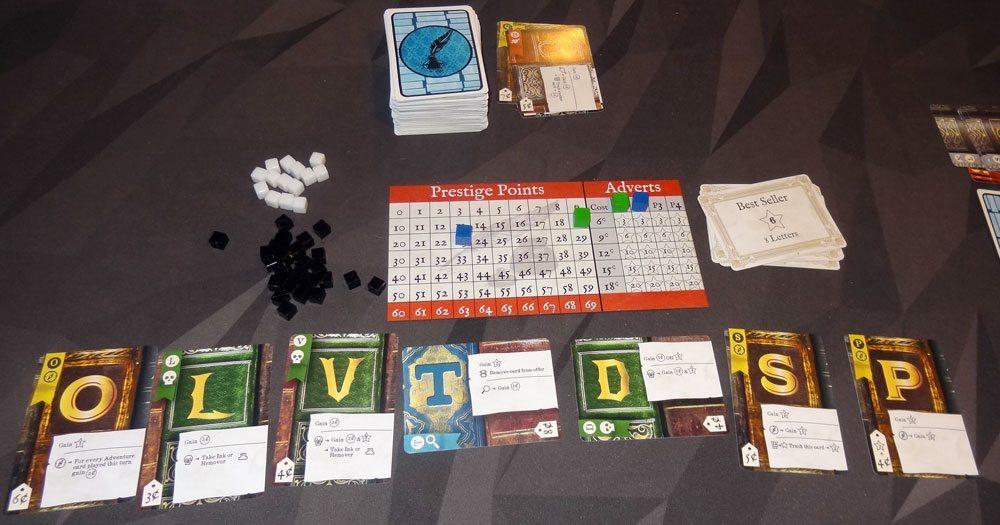 Hardback 2-player game