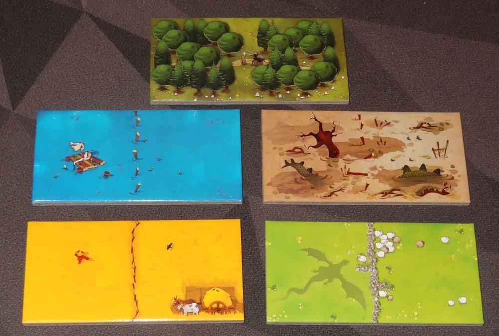 Kingdomino tiles